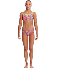 Funkita Racerback 2-delige Bikini Meisjes, bont